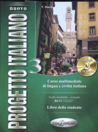 Nuovo Progetto Italiano 3 libro - okładka podręcznika