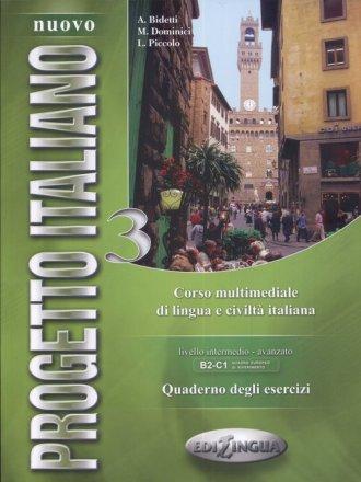 Nuovo Progetto Italiano 3. Quaderno - okładka podręcznika