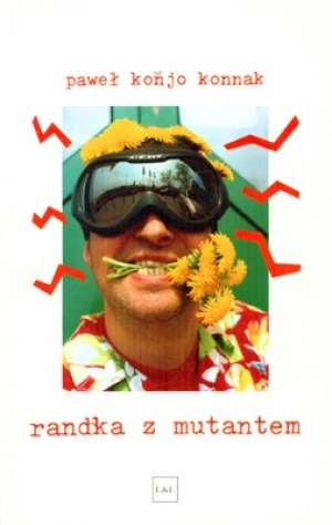 Randka z mutantem - okładka książki
