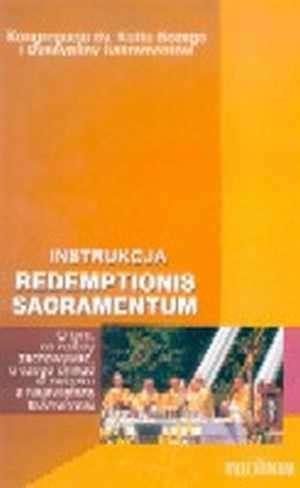 Redemptionis sacramentum - okładka książki