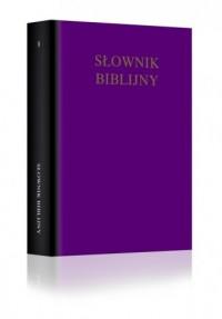 Słownik biblijny - W.R.F. Browning - okładka książki