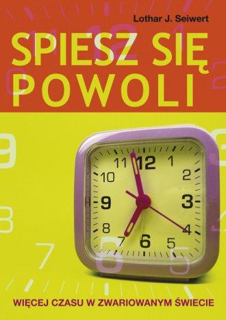 Spiesz się powoli - okładka książki