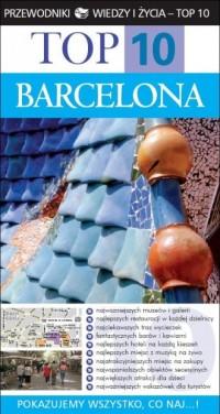 Top10. Barcelona - okładka książki