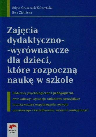 Zajęcia dydaktyczno-wyrównawcze - okładka książki