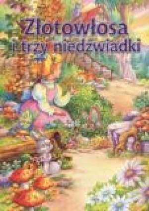 Złotowłosa i trzy niedźwiadki - okładka książki