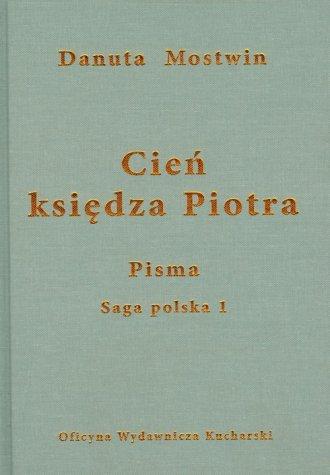 Cień księdza Piotra - okładka książki