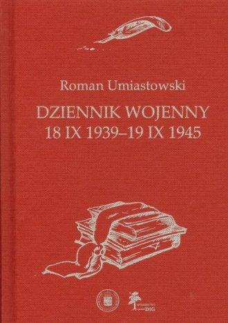 Dziennik wojenny. 18 X 1939-19 - okładka książki