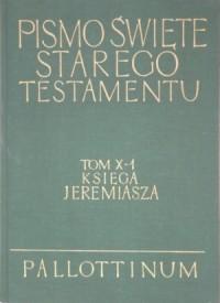 Księga Jeremiasza. Komentarz - okładka książki