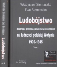 Ludobójstwo dokonane przez nacjonalistów - okładka książki