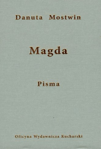 Magda - okładka książki