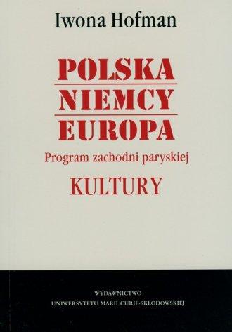 Polska - Niemcy. Europa. Program - okładka książki