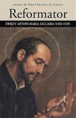Reformator. Święty Antoni Maria - okładka książki