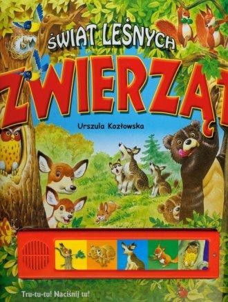 Świat leśnych zwierząt - okładka książki