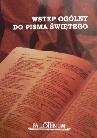 Wstęp ogólny do Pisma Świętego - okładka książki
