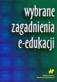 Wybrane zagadnienia e-edukacji - okładka książki