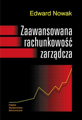 Zaawansowana rachunkowość zarządcza - okładka książki