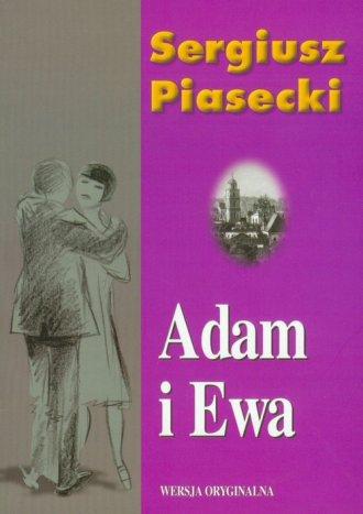 Adam i Ewa - okładka książki