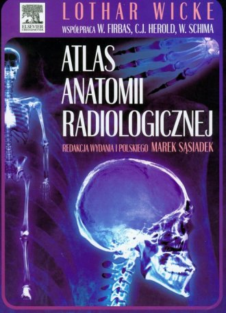 Atlas anatomii radiologicznej - okładka książki