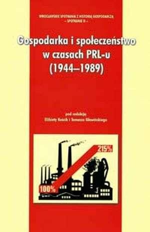 Gospodarka i społeczeństwo w czasach - okładka książki