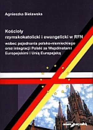 Kościoły rzymskokatolicki i ewangelicki - okładka książki