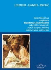 Literatura - człowiek - wartość - okładka książki