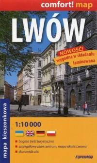 Lwów plan miasta - Wydawnictwo - okładka książki