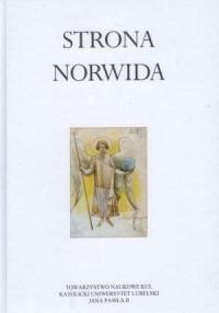 Strona Norwida - okładka książki