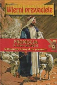 Wierni Przyjaciele. KOMPLET 5 TOMÓW - okładka książki