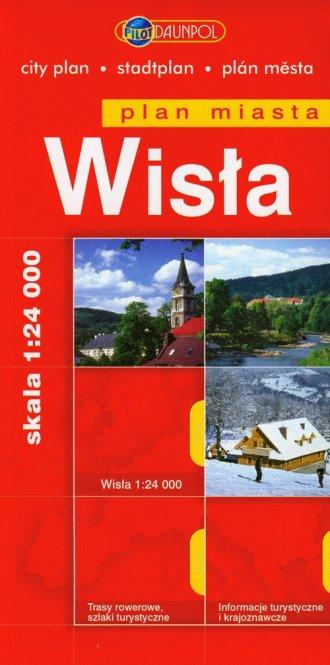 Wisła (plan miasta) - okładka książki