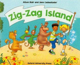 Zig Zag Island - okładka książki
