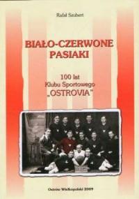 Biało-czerwone pasiaki - okładka książki