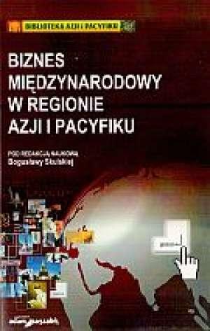 Biznes międzynarodowy w regionie - okładka książki