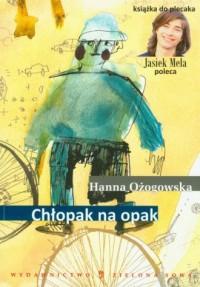 Chłopak na opak - okładka książki