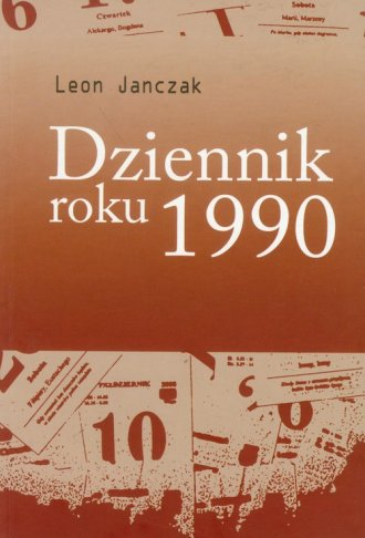 Dziennik roku 1990 - okładka książki