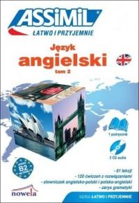 Język angielski. Łatwo i przyjemnie. Tom 2 B2 (+ 2 CD) - okładka podręcznika