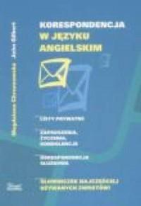 Korespondencja w języku angielskim - okładka książki