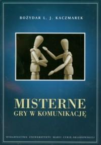 Misterne gry w komunikację - okładka książki