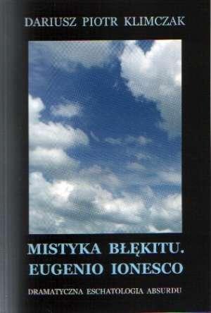 Mistyka błękitu. Eugenio Ionesco - okładka książki