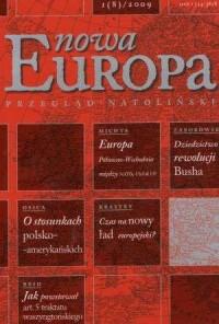 Nowa Europa 1(8) 2009 - Wydawnictwo Ośrodek Myśli Politycznej - okładka książki