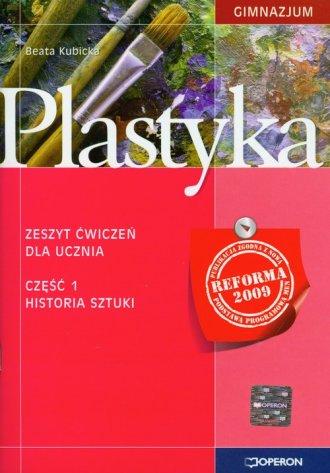 Plastyka. klasa 1. Gimnazjum. Zeszyt - okładka podręcznika