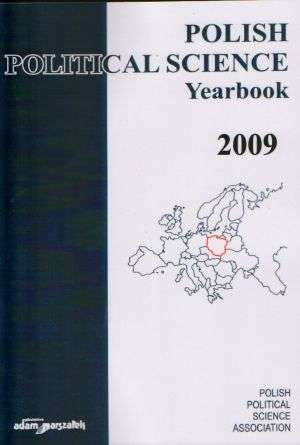 Polish Political Science. Yearbook - okładka książki