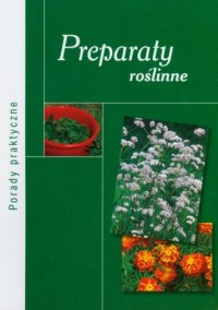 Preparaty roślinne - okładka książki