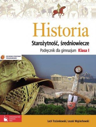 podr�cznik -  Historia. Staro�ytno�� i �redniowiecze. Klasa 1. Gimnazjum. Podr�cznik - Lech Trzcionkowski