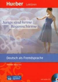 Deutsch als Fremsprache Jungs sind keine regenschirme (+ CD) - okładka podręcznika