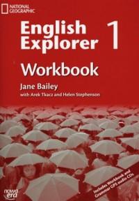 English Explorer. Zeszyt ćwiczeń cz. 1. Gimnazjum (+ CD) - okładka podręcznika