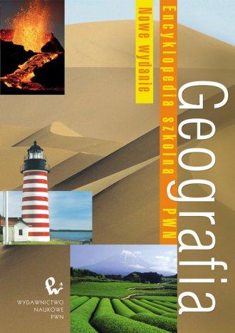 Geografia. Encyklopedia szkolna - okładka książki
