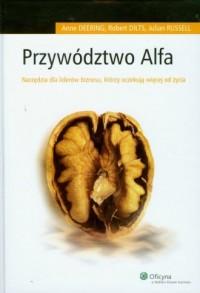 Przywództwo Alfa - okładka książki