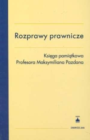 Rozprawy prawnicze - okładka książki