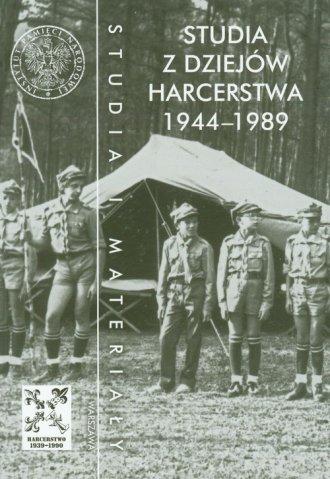 Studia z dziejów harcerstwa 1944-1989 - okładka książki