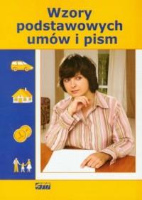 Wzory podstawowych umów i pism - okładka książki